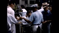 1957 Hot Dog Vendor and Dock Workers