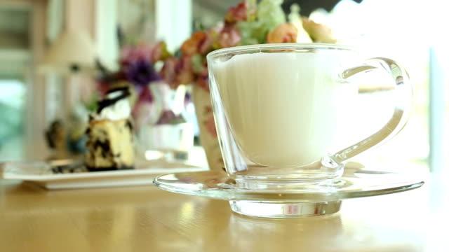 hot drink milk