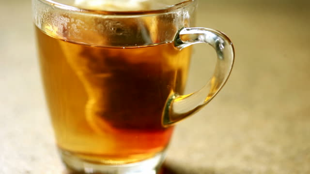 Hot tea cup