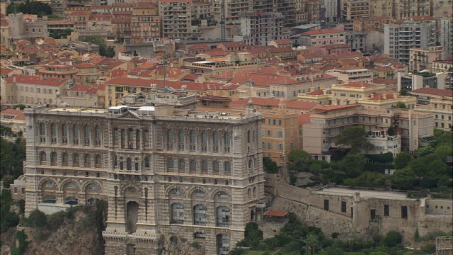 AERIAL Hotel on waterfront/ ZO cityscape and marina/ Monte Carlo, France