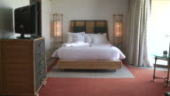 MS Hotel suite bedroom of luxury resort / Tangiers, Unspecified, Morocco