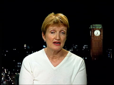 24 hour licencing law may force levy on pubs and clubs ENGLAND London INT Tessa Jowell MP EXWESTMINSTER interview SOT Need to make sure that the new...