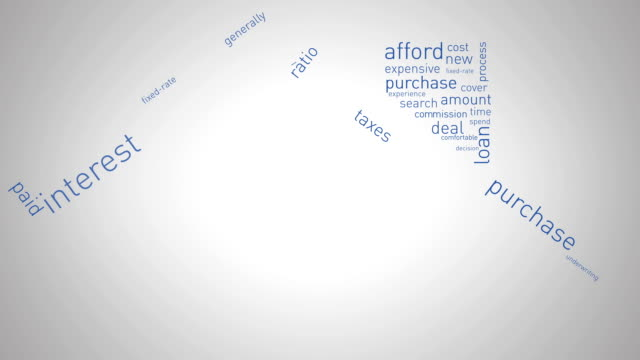 House and Mortgage Animation