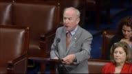 House Appropriations Committee Chairman Rodney Frelinghuysen of New Jersey presents an emergency appropriations bill allowing the federal government...