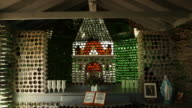 House entirely built with empty bottle of glass on Prince Edward Island