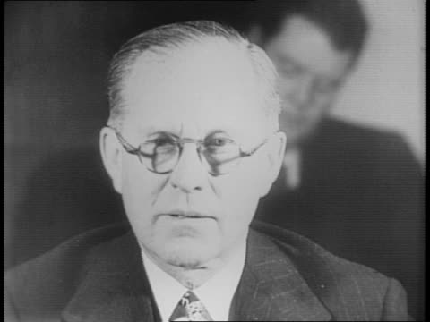 House Foreign Affairs Committee Meeting / montage of Joseph P Kennedy addressing the Committee