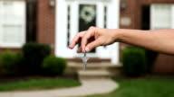 Haus Schlüssel, umgetauscht In Front Of House