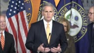 House Majority Leader Kevin McCarthy tells reporters he never finds it unhelpful for members of Congress to express themselves McCarthy says that...