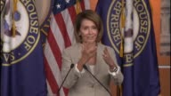House Minority Leader Nancy Pelosi asked about impact of email scandal on Hillary Clinton campaign for the presidency tells reporter she is focused...