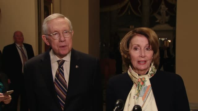 House Minority Leader Nancy Pelosi of California says there was a very strong number of votes in the House for the bill on which she delivered votes...