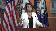 House Minority Leader Nancy Pelosi of California tells reporters at a regular press briefing that in her the Dream act is the basis for how to...