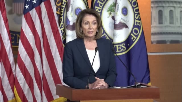 House Minority Leader Nancy Pelosi of California welcomes openness in Congress to legislation banning bump stocks upgrade weapons to fully automatic...