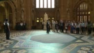 House of Commons meets for first time since election Speakers procession ENGLAND London Westminster House of Commons INT Father of the House Kenneth...