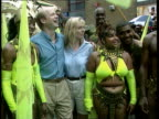 Conservative Split LIB London Notting Hill Hague with then fiancee Ffion Jenkins at Notting Hill carnival