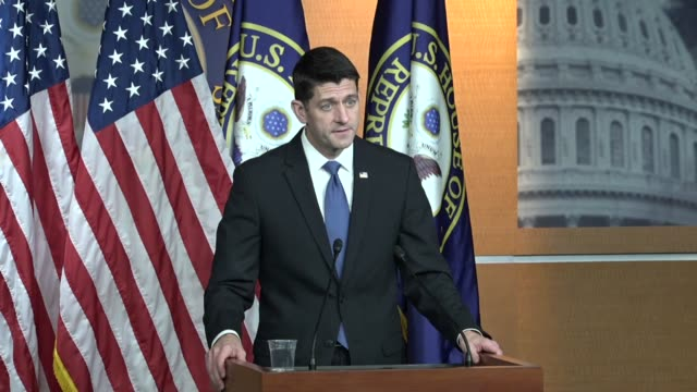 House Speaker Paul Ryan of Wisconsin answer questions from reporters as tax reform legislation was moving to the House Ways and Means Committee Ryan...
