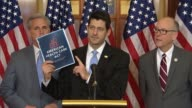 House Speaker Paul Ryan of Wisconsin says that the American Health Care Act has been a long time coming keeps Republican promises to repeal and...