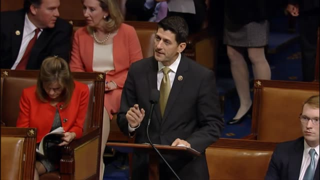House Ways and Means Chairman Paul Ryan opens debate on a bill to prevent a national default by prioritizing payments to America's creditors first