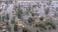 Houses drowned due to floods / United States