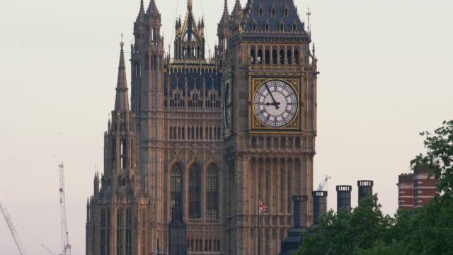 Houses of Parliament Long shot.4K.