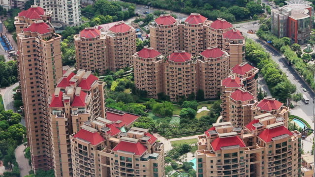 WS HA housing complex in Pudong financial district in Shanghai / Shanghai,  China