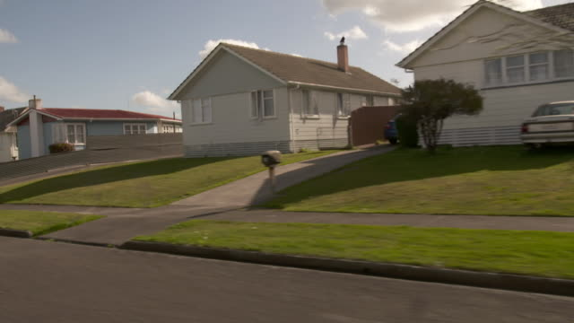 Housing on residential street in Feilding New Zealand