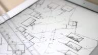 Housing plan on a digital tablet screen.
