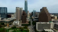 Hovering Over South Congress Avenue Capital City Perfection Above Downtown