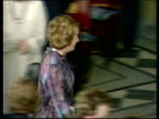 How well do the British public know the current world leaders TX Thatcher walks LR past clapping delegates at PKF past Nakaksone Trudeau Reagan who...