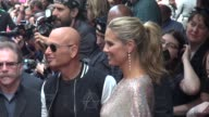 Howie Mandel and Heidi Klum on location for 'America's Got Talent' Howie Mandel and Heidi Klum on location for on April 09 2013 in New York New York