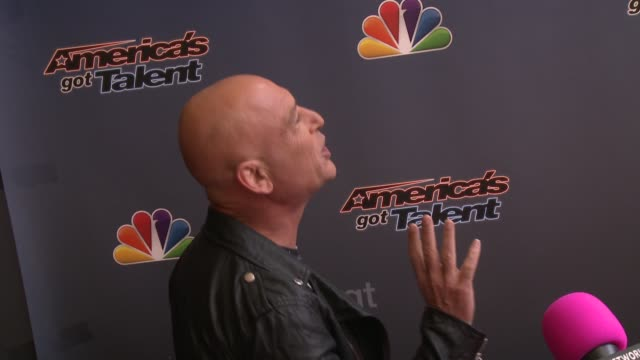 Howie Mandel at 'America's Got Talent' Red Carpet at the Dolby Theater on April 22 2014 in Hollywood California