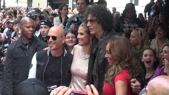 Howie Mandel Heidi Klum Howard Stern and Melanie 'Mel B' Brown on location for 'America's Got Talent' Howie Mandel Heidi Klum Howard Stern and on...