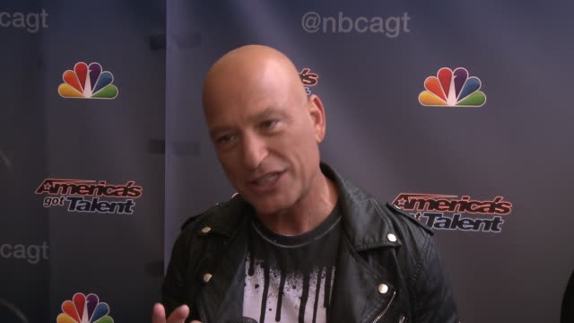 INTERVIEW Howie Mandel on why he has tongs on his belt buckle if he has a judging strategy what the most important thing for contestants to know when...