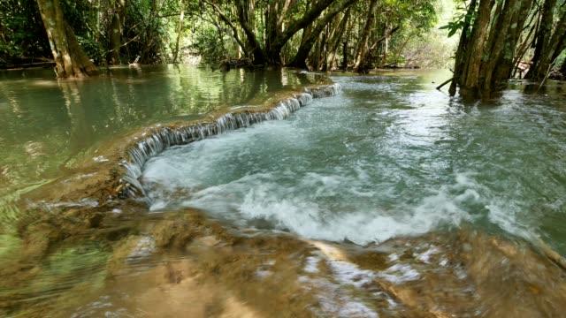 Huai Mae Khamin Waterfall at Kanchanaburi , Thailand.