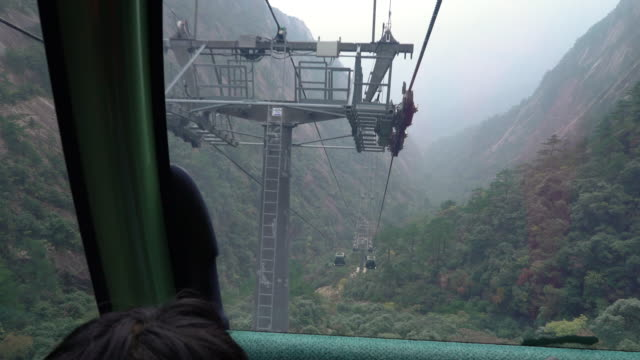 Huangshan Yellow Mountains of China Cable car