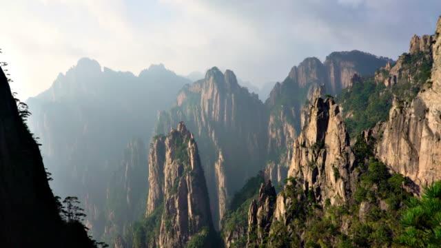 Huangshan-gula bergen i Kina