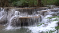 Huay Mae Kamin Waterfall Kanchanaburi Thailand