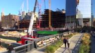 Hudson Yards, High Line Park, New York City, 2015
