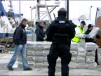 Huge Cocaine haul displayed by Customs Officers in Cork Ireland