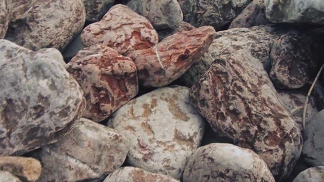 huge stones floor