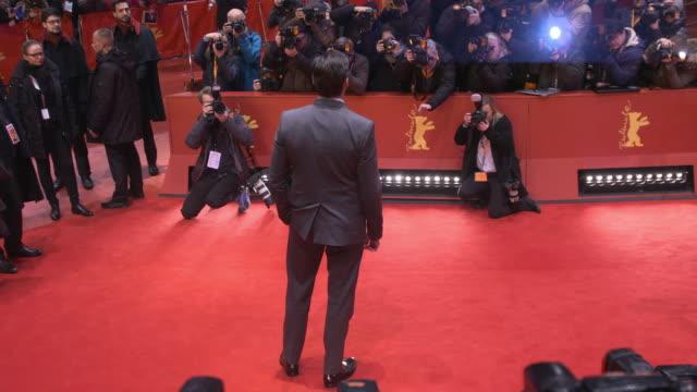 Hugh Jackman Dafne Keen at Berlin Film Festival 'Logan' Red Carpet at Berlinale Palast on February 17 2017 in Berlin Germany