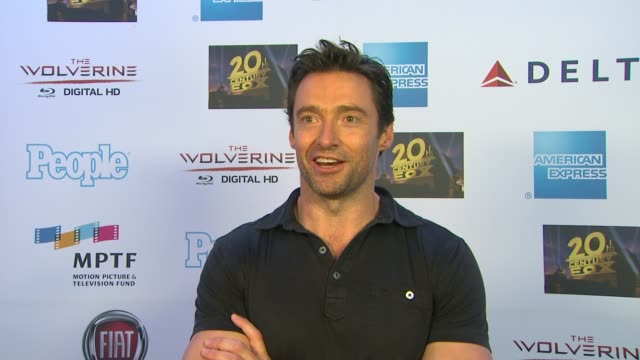 CHYRON Hugh Jackman One Night Only Debuts At The Dolby Theatre Benefiting MPTF Los Angeles CA United States 10/12/13
