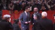CLEAN Hugh Jackman Patrick Stewart Hutch Parker Simon Winberg James Mangold Dafne Keen Sunny Ozell at Berlin Film Festival 'Logan' Red Carpet at...