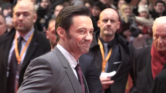 Hugh Jackman's riproaring final turn in the Wolverine franchise premiered at the Berlin film festival Friday as he admitted he shed a few tears...