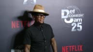 DL Hughley at Netflix Presents 'Def Comedy Jam' 25 Anniversary Special Arrivals at The Beverly Hilton Hotel on September 10 2017 in Beverly Hills...