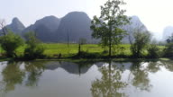 Huixian Wetland park,Lingui,Guilin,Guangxi,China