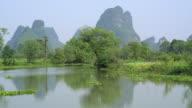 Huixian Wetland park,Lingui,Guilin,Guangxi,China