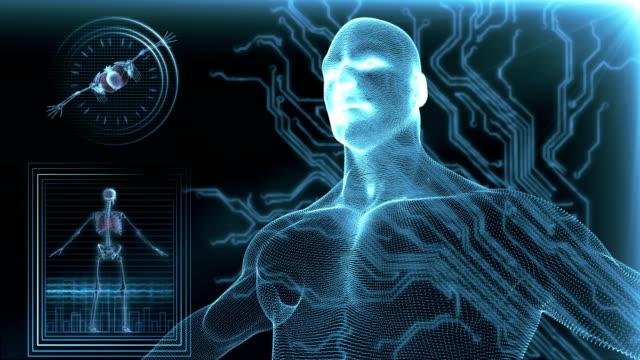 Menschlichen Körpers medizinische Scannen