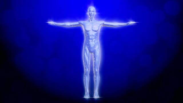 Menschlichen Körper radio Wellen