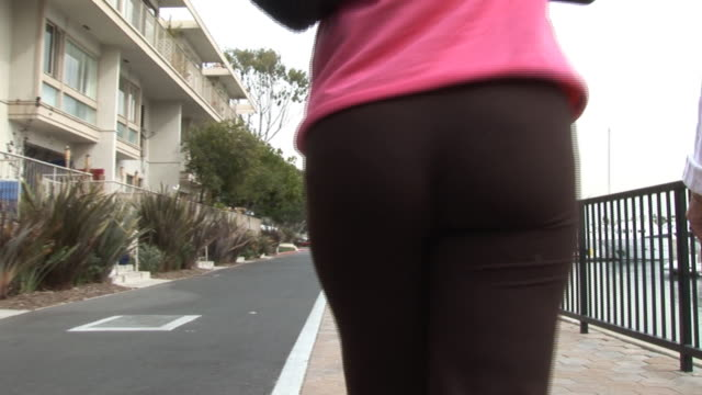 (HD1080i) Human Body Weight: Butt, Rear End, Bum, Behind, Thighs
