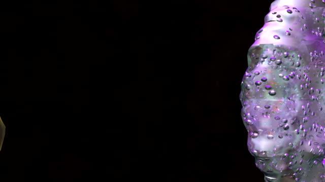 Human cell flythrough